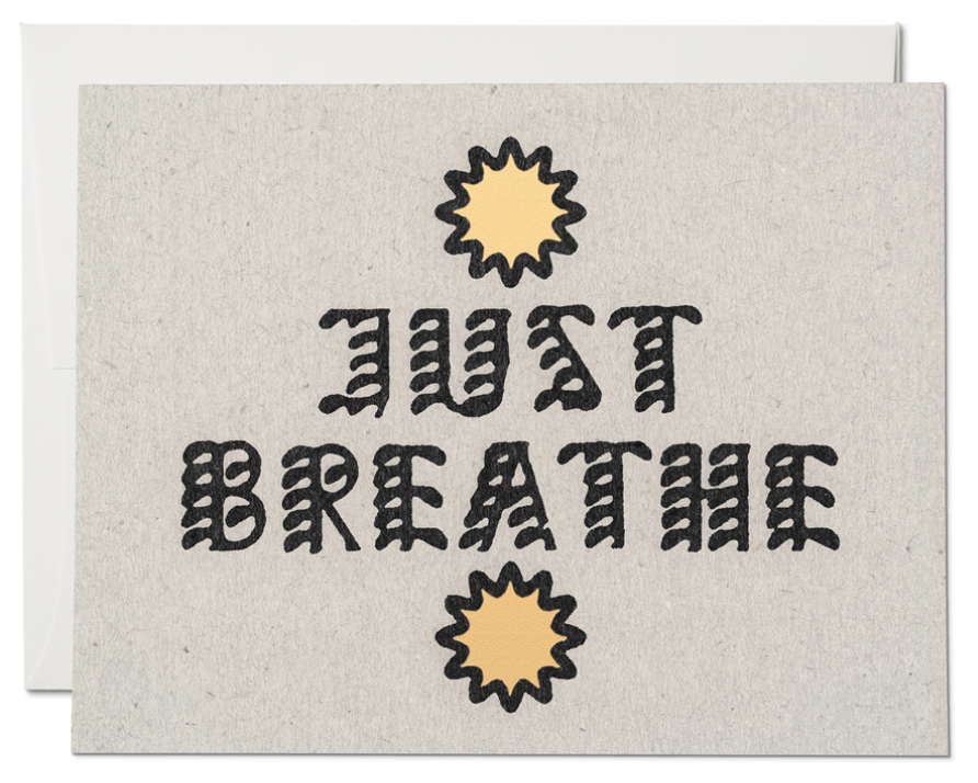 Just Breathe Card