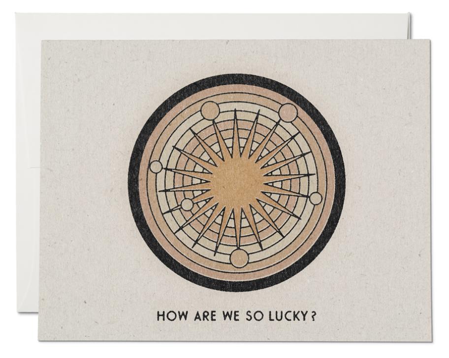 So Lucky Card