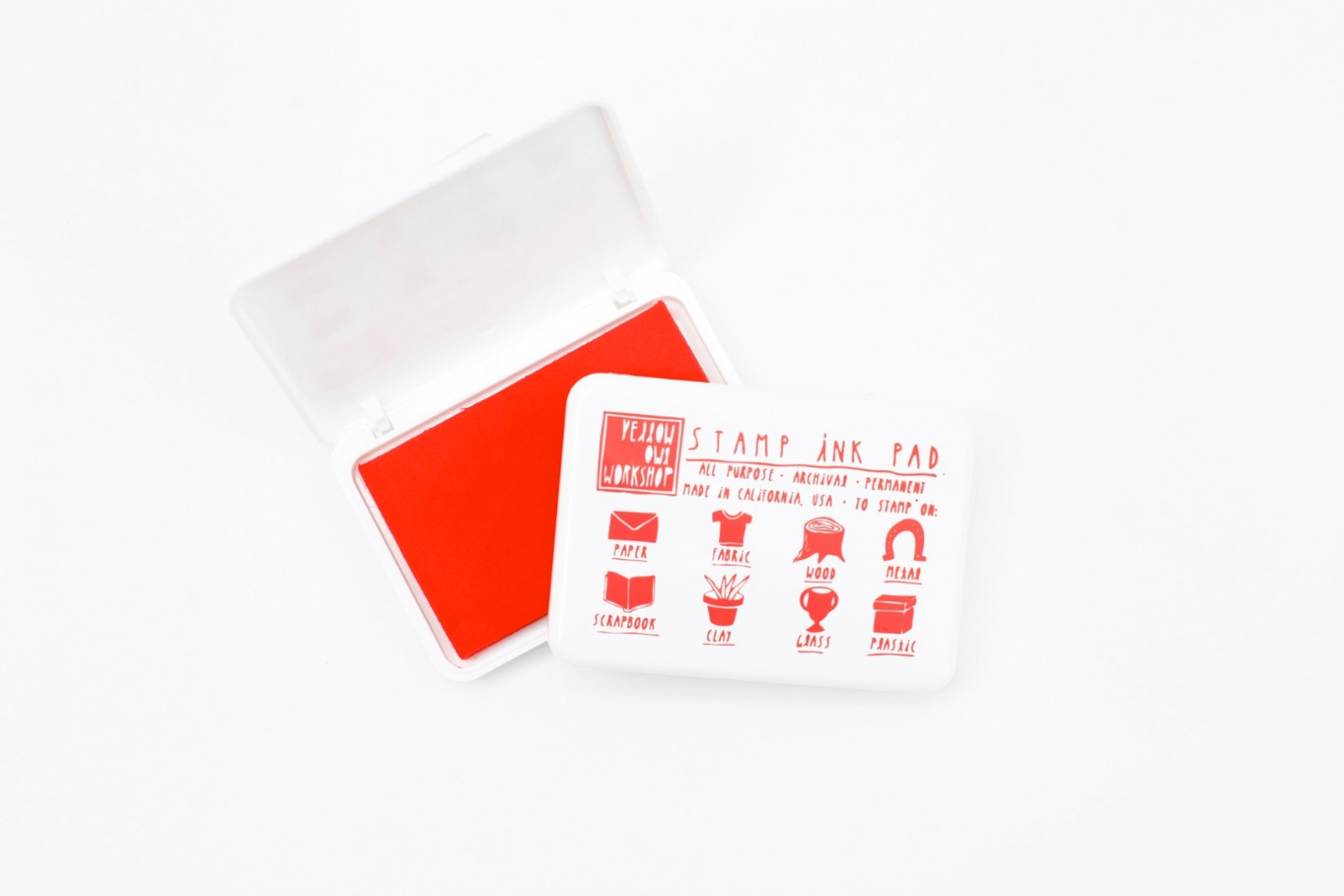 Red Ink Pad