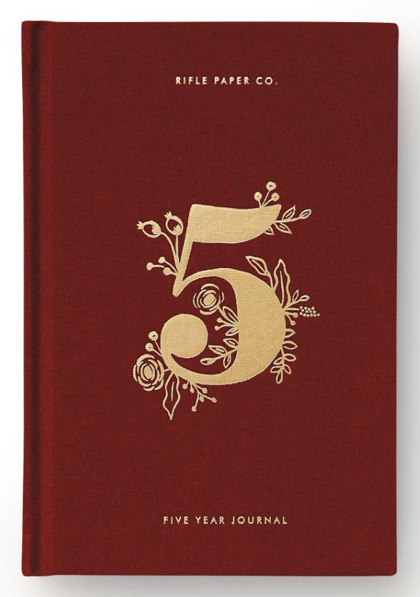 5 Year Keepsake Journal Set 6