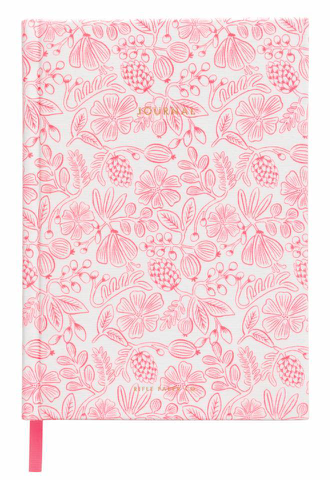 Moxie Floral Fabric Journal - 1