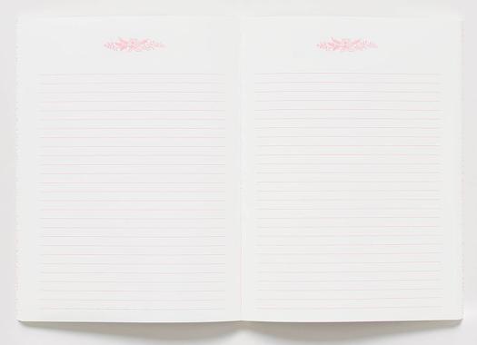Juliet Rose Memoir Notebook 3