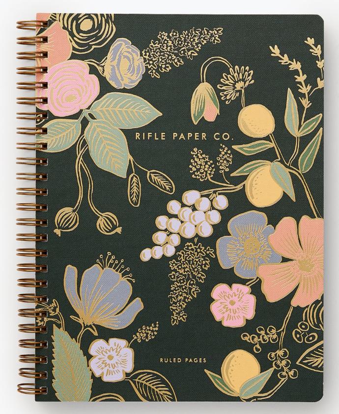 Colette Spiral Notebook