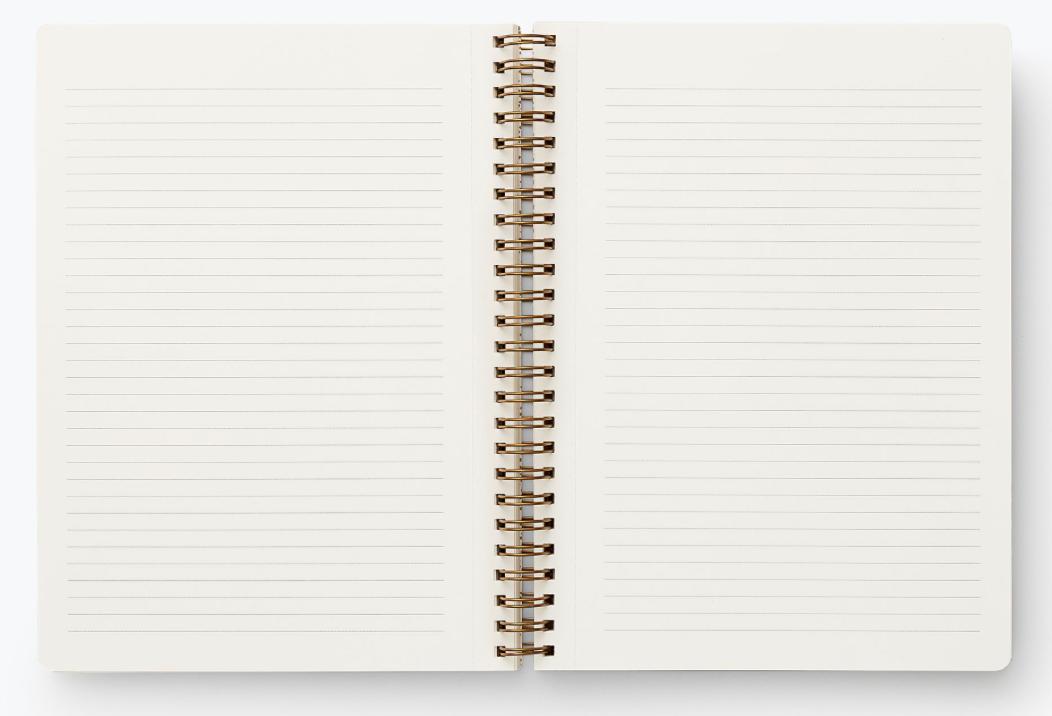 Garden Party Spiral Notebook 2