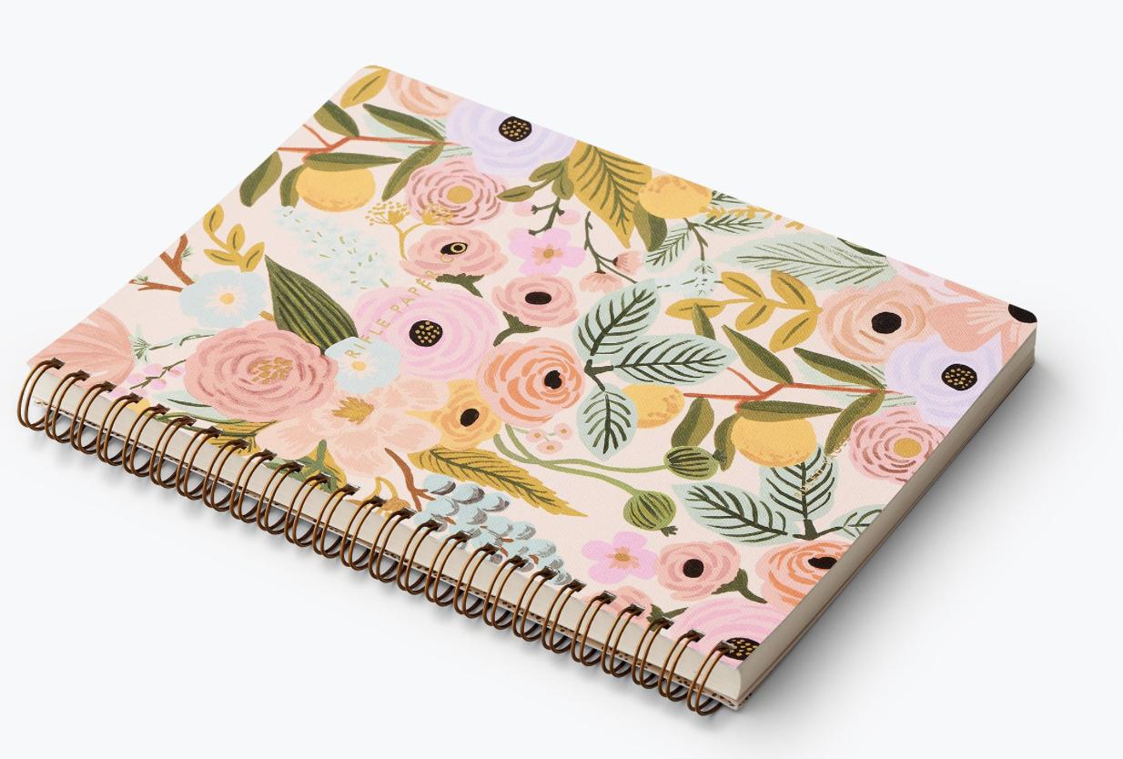 Garden Party Spiral Notebook 3