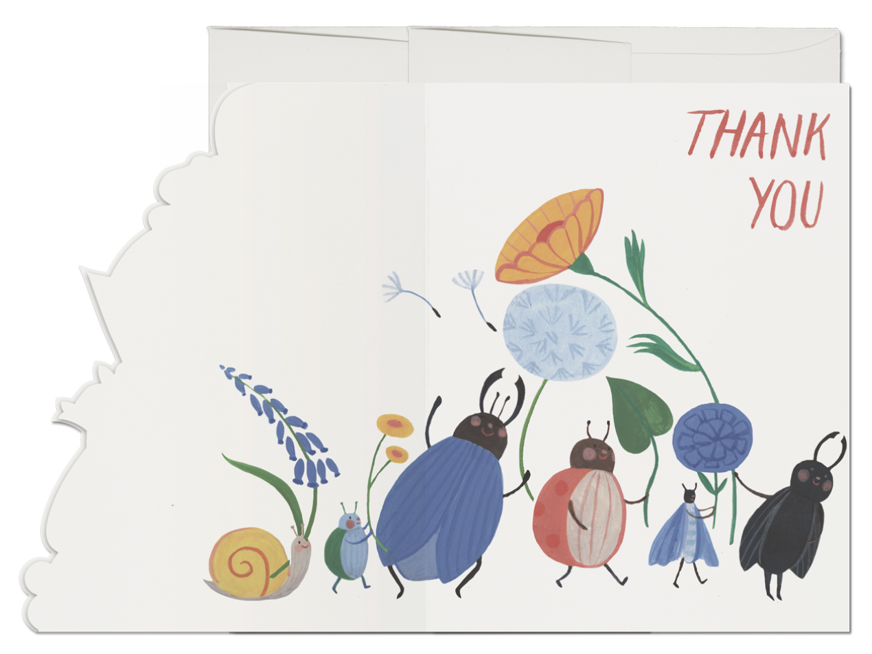 Bugs Thank You Card 2