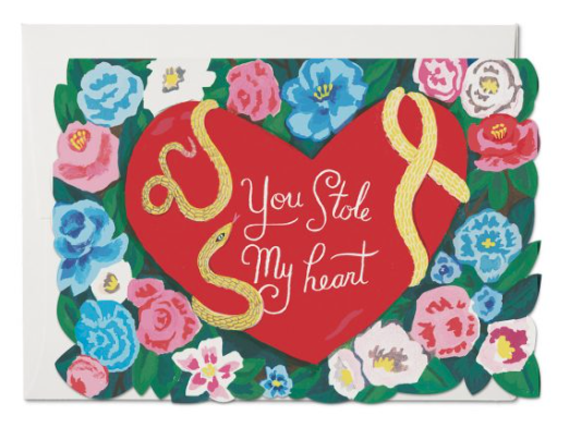 Stole My Heart Card