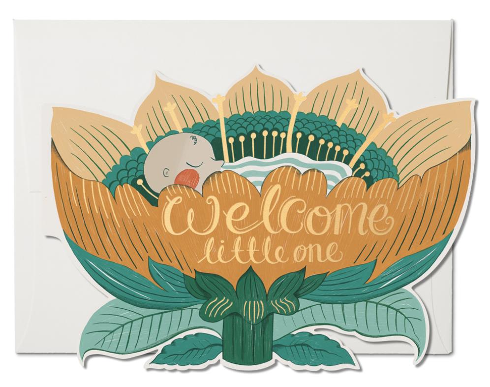 Baby Blossom Card