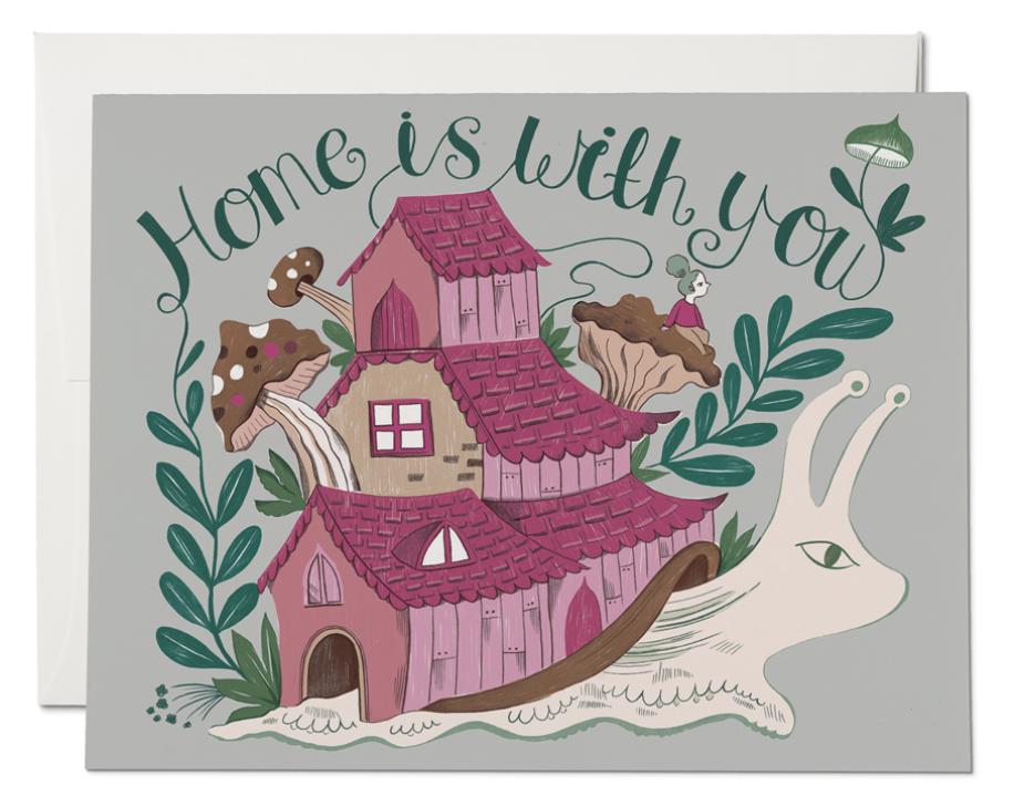 Snail Home Card