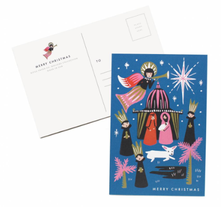 Nativity Postcards