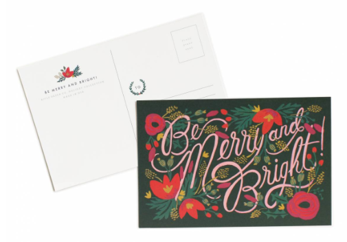 Be Merry & Bright Postcards