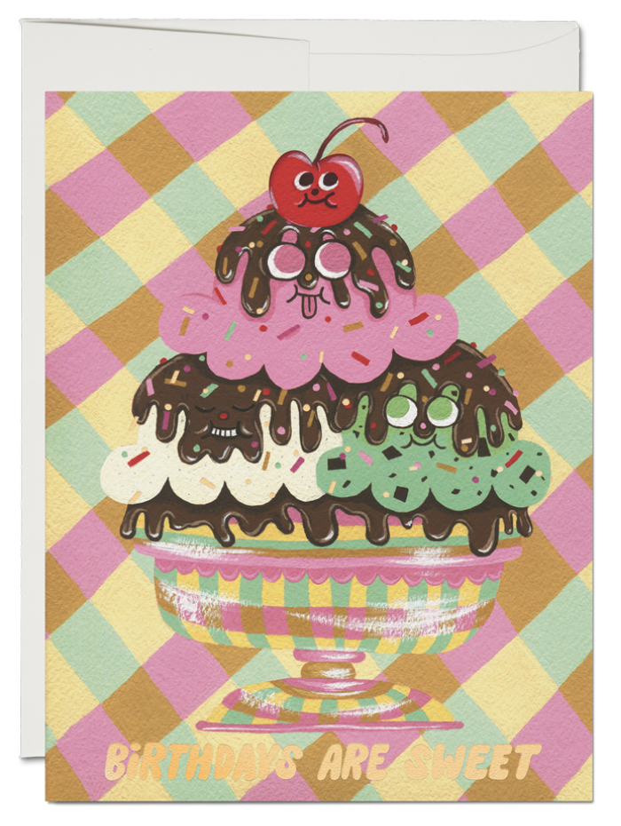 Birthday Sundae Card