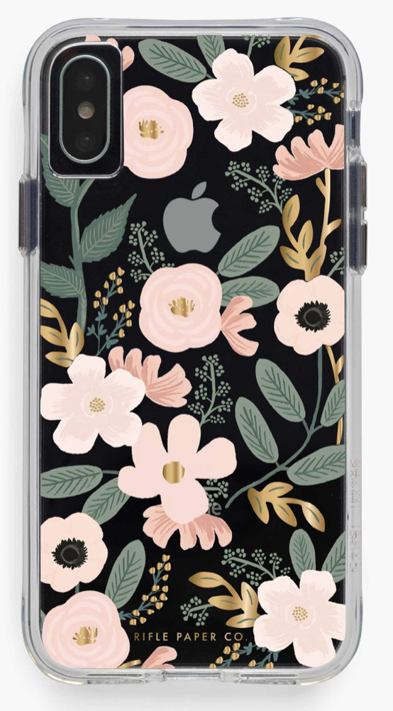 Clear Wildflowers iPhone Cases