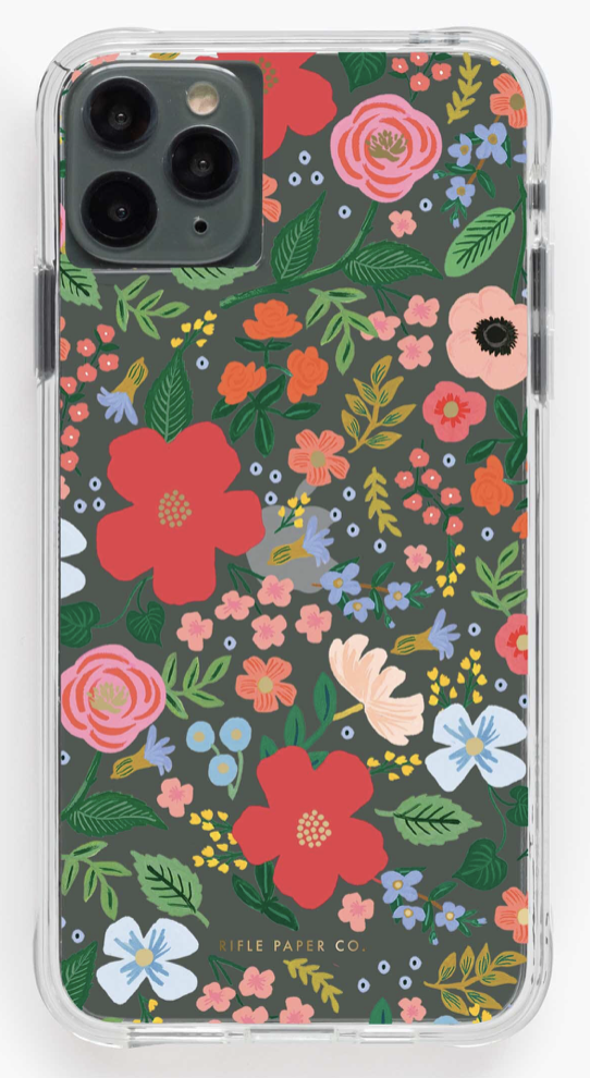 Clear Wild Rose iPhone Cases 2