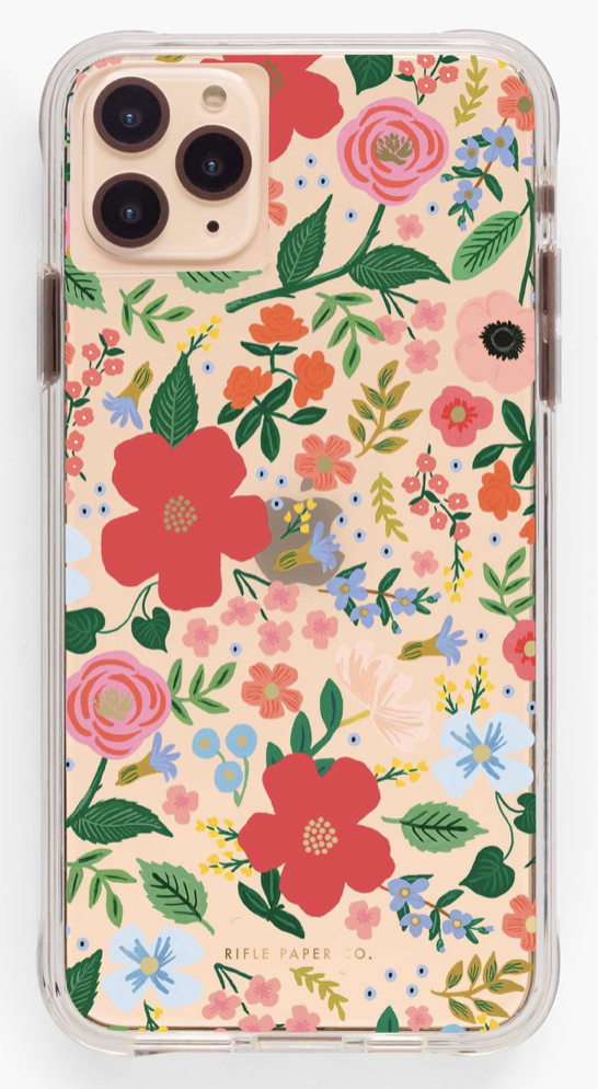 Clear Wild Rose iPhone Cases 3