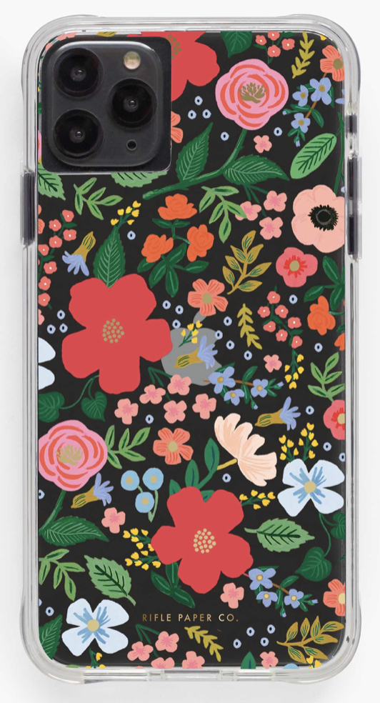Clear Wild Rose iPhone Cases 4