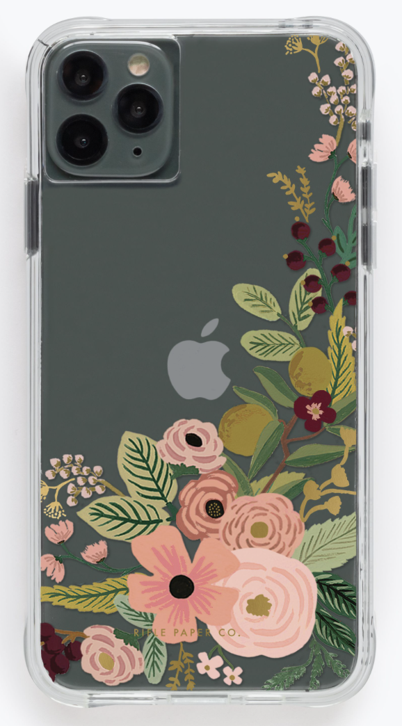 Garden Party Rose iPhone Cases