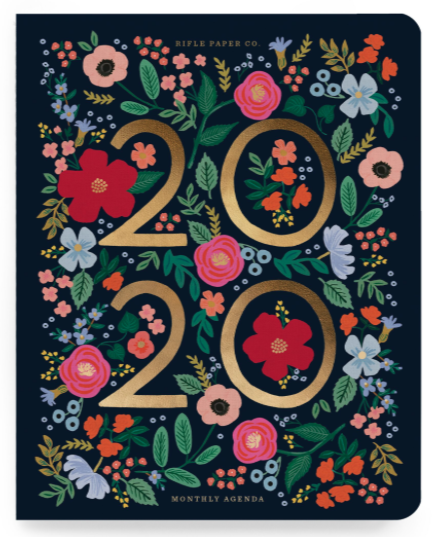 2020 Wild Rose Appointment Notebook - 1