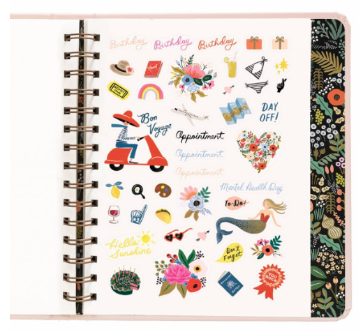 2019 Bouquet Covered Planner 14