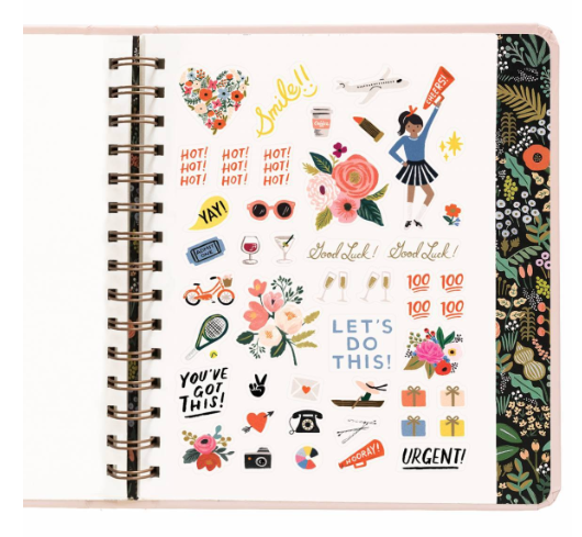 2019 Bouquet Covered Planner 15