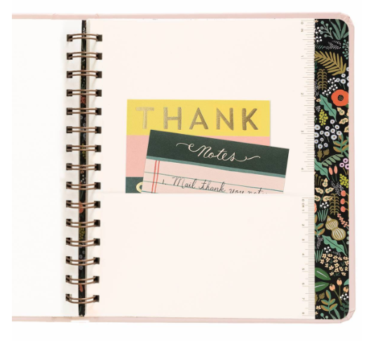 2019 Bouquet Covered Planner 16