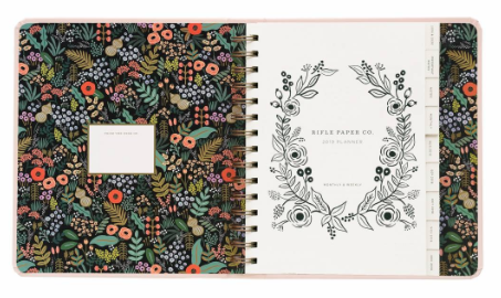 2019 Bouquet Covered Planner 2