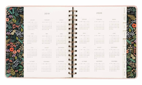 2019 Bouquet Covered Planner 3