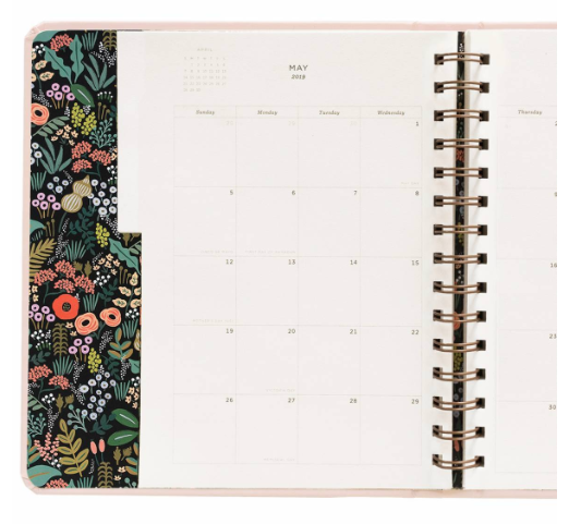 2019 Bouquet Covered Planner 7