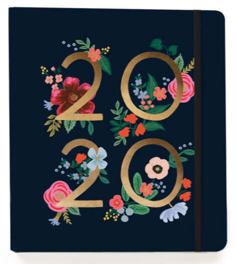 2020 Wild Rose Covered Planner - 1