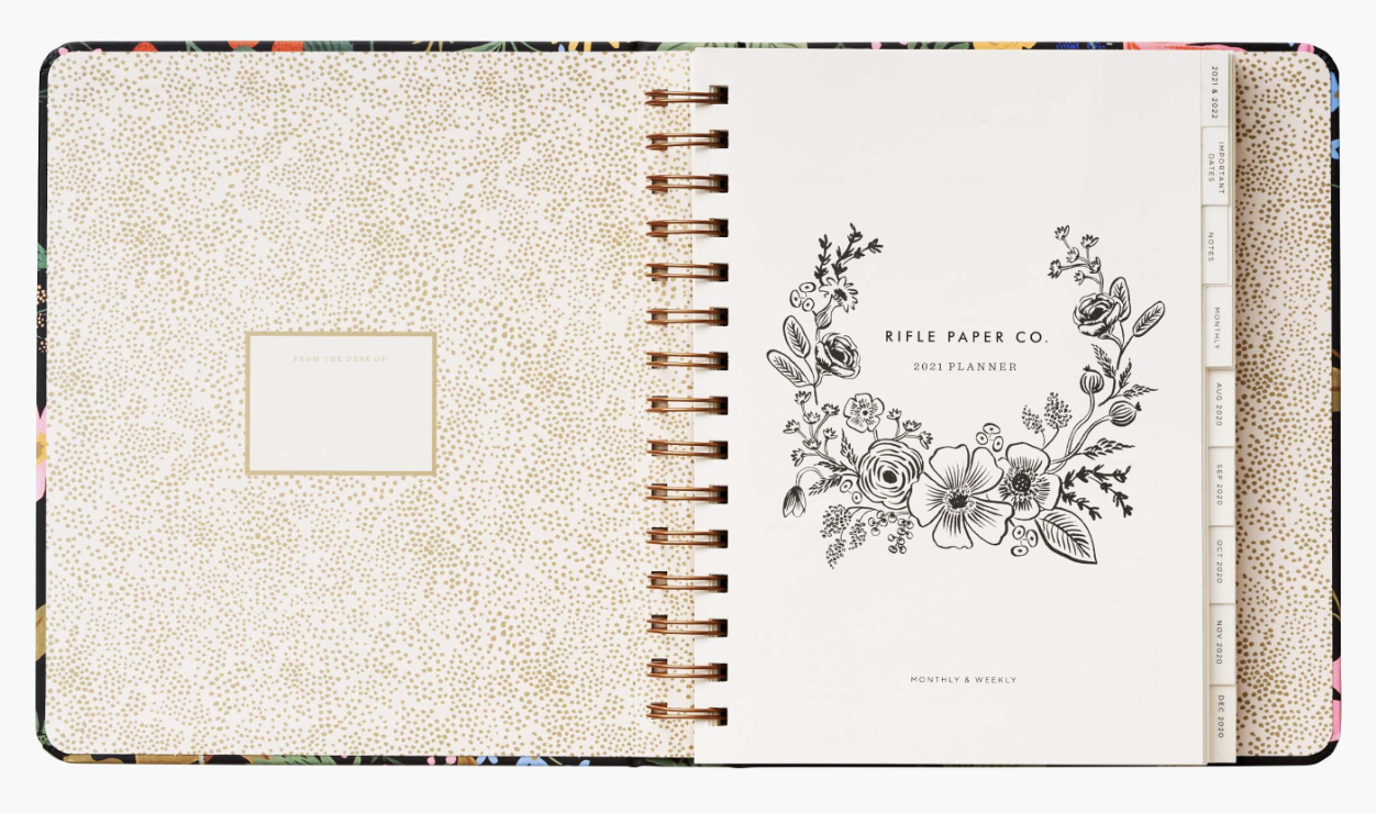 2021 Strawberry Covered Planner 2