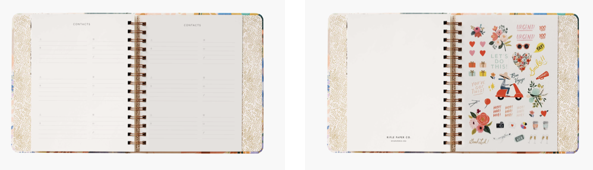 2021 Luisa Covered Planner 5
