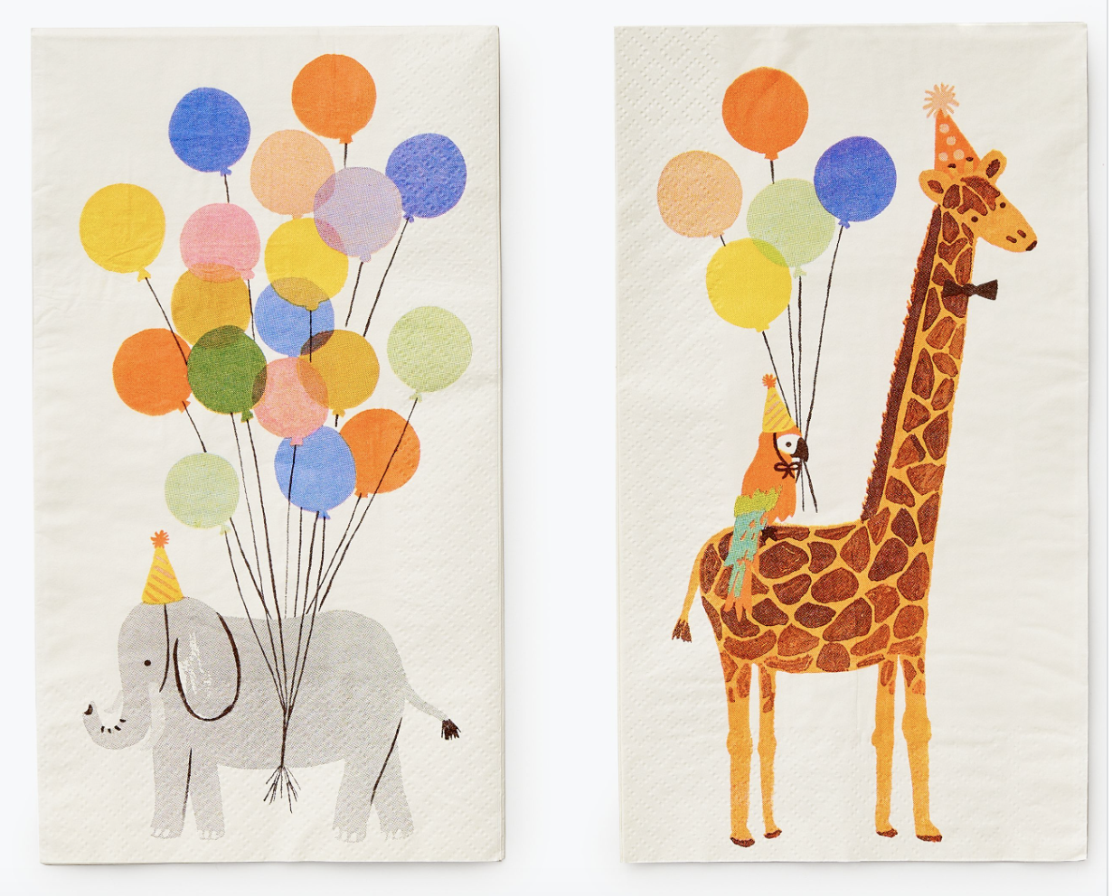 Party Animals Guest Napkins 2