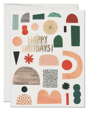 Xmas Shapes Card