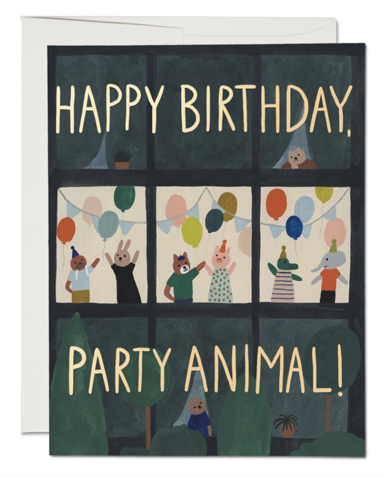 Animal House Card