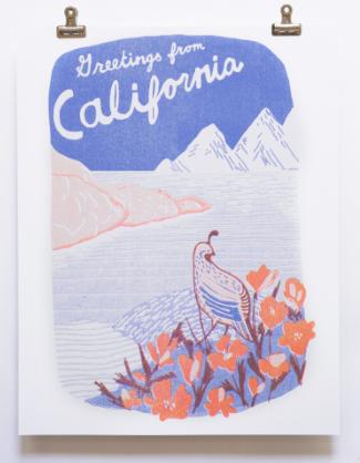 California Print