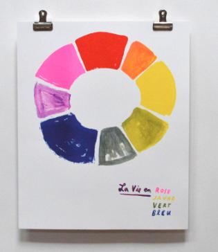 Le Vie en Rose Print