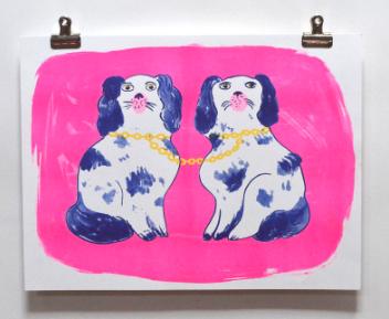 Dogs Print