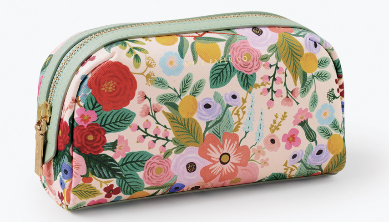 Garden Party Small Cosmetic Pouch 3