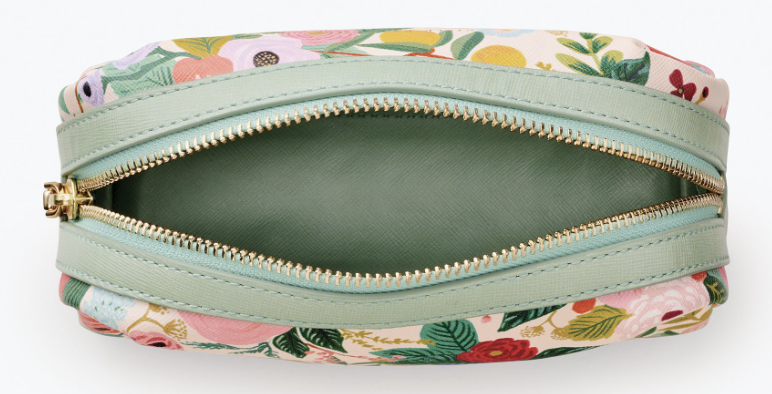 Garden Party Small Cosmetic Pouch 2