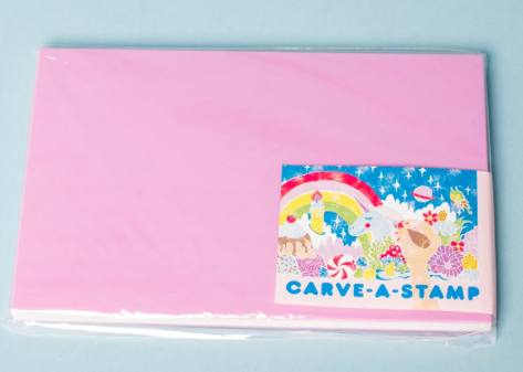 Carve -A- Stamp Refill Block