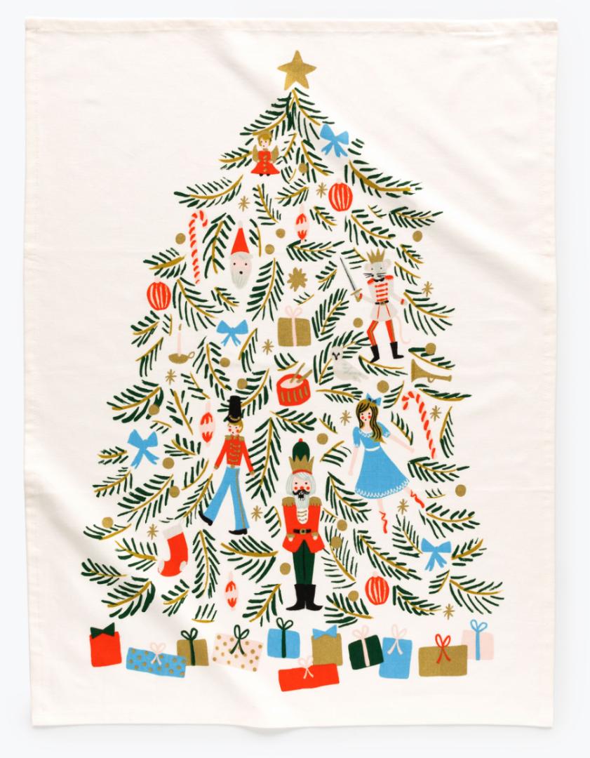 Christmas Tree Tea Towel 2