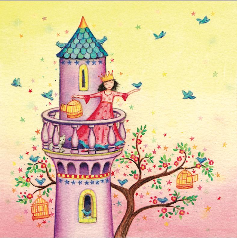 Princess Tower Card