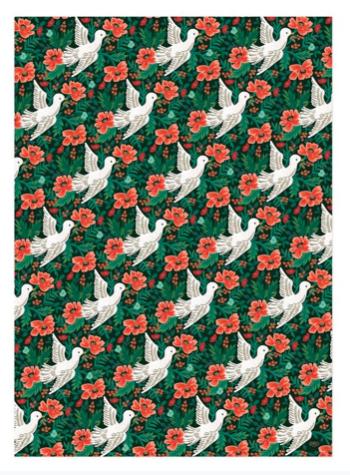 Peace Dove Wrap 2