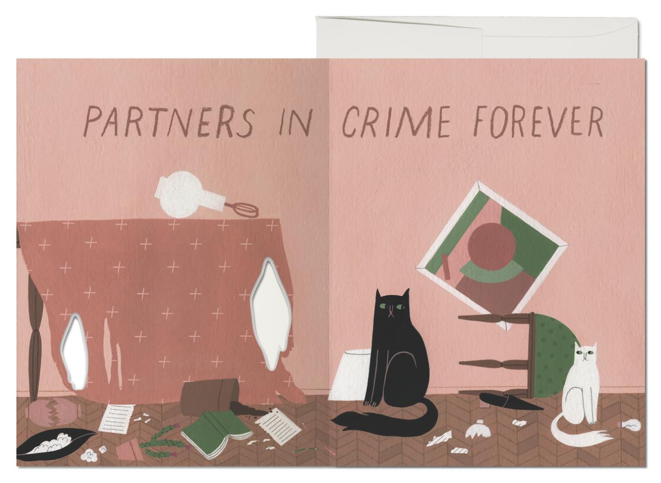 Cat Crimes Card 2