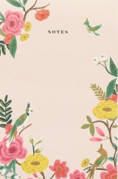 Shanghai Garden Notepad - VE 6