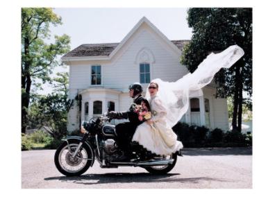 Bride/Groom/Motorcycle - VE 6