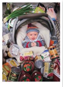 Baby in Cart - VE 6