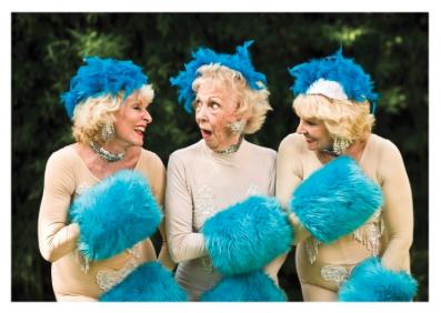 Ladies/Blue Hats - VE 6