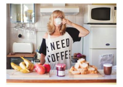Lady Need-Coffee - VE 6