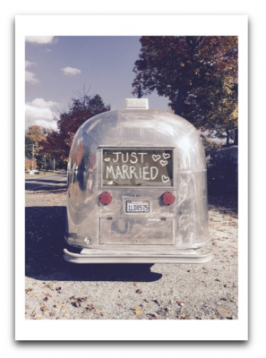 Married Airstream Card Palm Press USA
